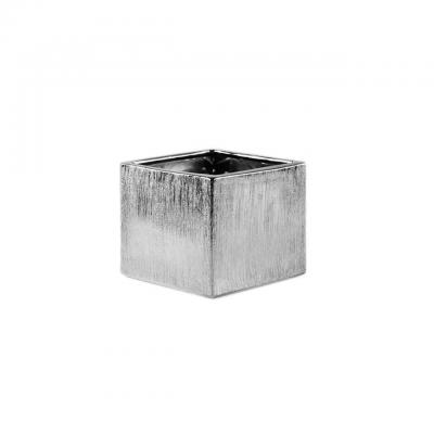 Cube Silver Square Small Vase.jpg